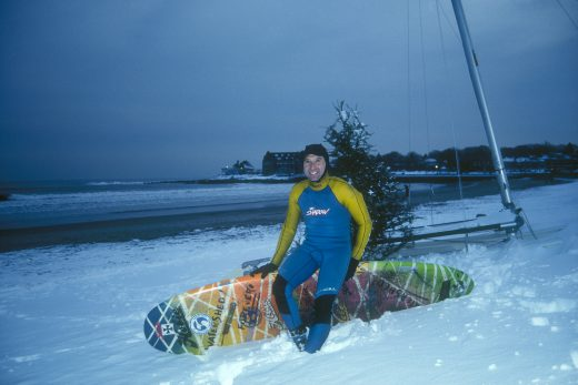 Peter Pan - RI Winter Surfing